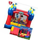 Inflatable Bounce House Commercial Bouncer Castle Jumper