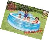 Inflatable Family Pool Lounge Swim Center Kids Swimming Play