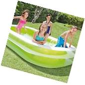 Inflatable Pool For Kids Swim Lounge Outdoor Family Swimming