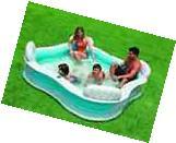 Inflatable Swimming Pool Portable Kids kiddie Family Swim