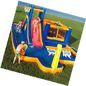 INFLATABLE WATER PARK Slide Commercial Bounce House Backyard