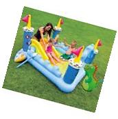 Inflatable Water Slide Backyard Castle Bounce House Outdoor