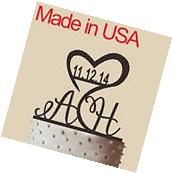 Initial Cake Topper,Personalized Wedding Cake Topper,