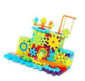 Interlocking Building Blocks Gears 81 Pcs Construction Toy