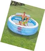 Intex Large Family Inflatable Lounge Pool Outdoor Water