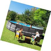 Intex 26 x 52 Ultra Frame Above Ground Swimming Pool with