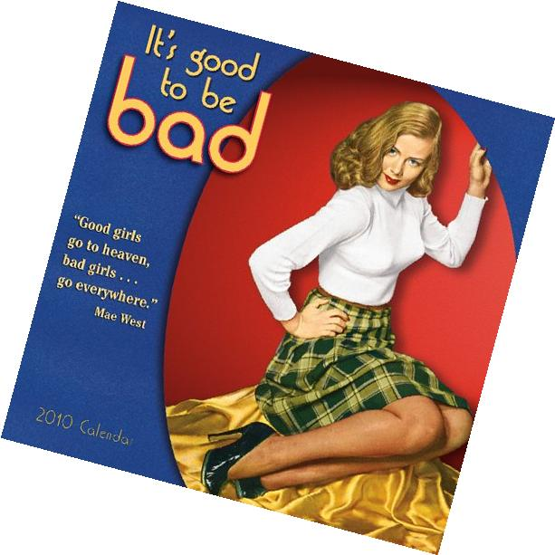 It's Good to be Bad 2010 Wall Calendar