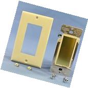 Cooper Ivory Decorator TOUCH Pad MASTER Dimmer Switch 600W 3