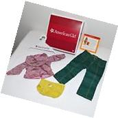 American Girl Ivy Meet Clothes Blouse Pants Underwear for 18