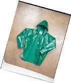 TINGLEY J41108 FR Rain Jacket w/Hood,PVC,Green, 4XL