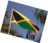 3x5 Foot JAMAICA JAMAICAN Heavy Duty In/outdoor Super-Poly