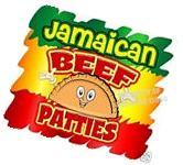 """Jamaican Beef Patties Decal 14"""" Food Truck Restaurant"""