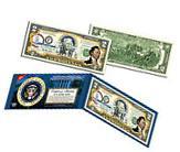 JAMES MONROE * 5th U.S. President * Colorized $2 Bill US