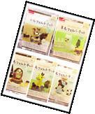 DAISO JAPAN DIY Needle felting animal kits 6pcs SET Wool Felt Handicraft Kit F/S