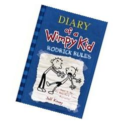 by Jeff Kinney Diary of a Wimpy Kid, Rodrick Rules Library