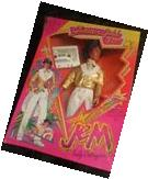 Jem And The Holograms Glitter N Gold Rio Doll Hasbro 80s