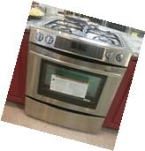 "NEW Jenn Air 30"" Dual Fuel Slide In Range Oven Convection -"