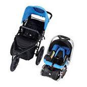 Baby Trend Jogger Travel System Stroller Jogging Toddler Car