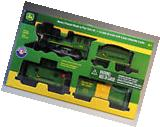 LIONEL LARGE SCALE JOHN DEERE READY TO PLAY TRAIN SET steam