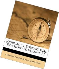 Journal Of Educational Psychology, Volume 13