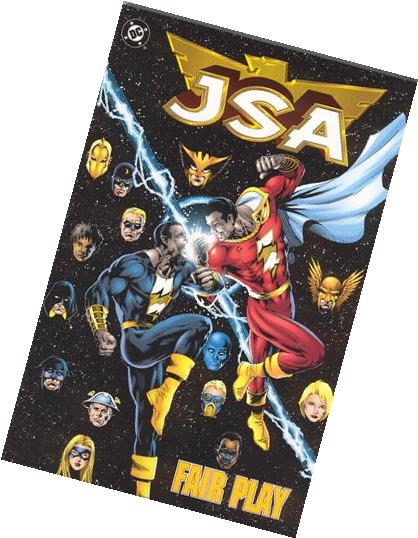 JSA: Fair Play - Book 4