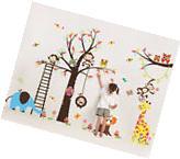 Jungle animal Removable Nursery Wall Stickers Vinyl Room