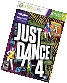 Just Dance 4 Xbox 360 Brand New Factory Sealed