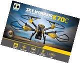 K70C Sky 2.4G 4CH 6 Axis 3D Headless 2MP Camera RC