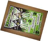 Kawasaki Monster Energy Drink Decal Stickers, **FREE
