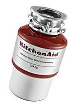 KitchenAid KCDI075B 3/4 hp Continuous Feed Food Waste