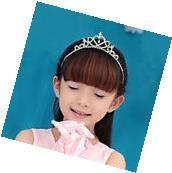 Children Toddler Princess Queen Rhinestone Wedding Prom