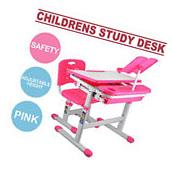 Kids Study Table And Chair Set With Storage Little Girls