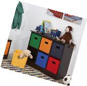 Kids Toy Organizer Storage Multi Bins Box Chest Cabinet