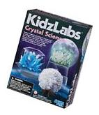 4M KidzLabs Crystal Science Kit 3 crystal growing