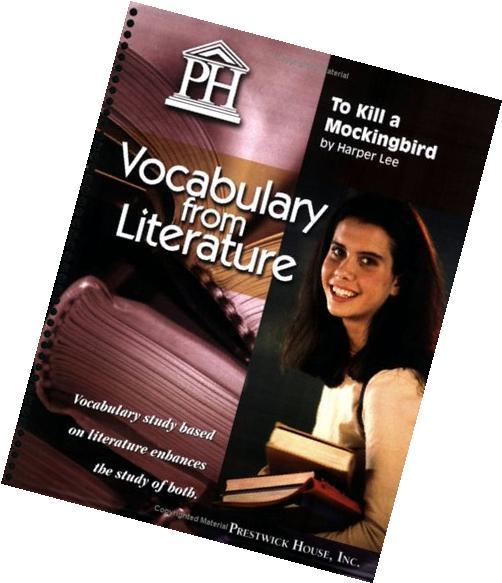 To Kill a Mockingbird - Vocabulary from Literature