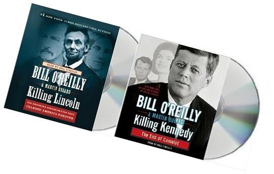 Killing Lincoln & Killing Kennedy Audiobook set