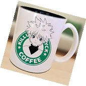 Killua X Hunter Starbucks Anime Manga Japanese Insipred