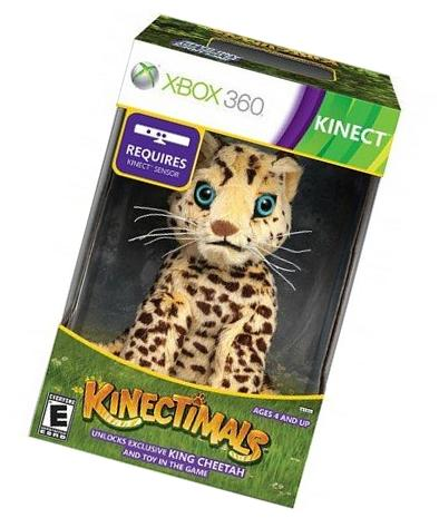 Kinectimals Limited Edition with King Cheetah