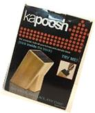 Kapoosh Kitchen Caddy Universal Slotless Bamboo Knife Block
