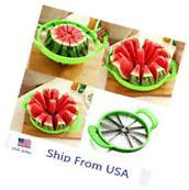Kitchen Tool Fruit Watermelon Cutter Slicer Melon Cantaloupe