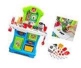 Kids Kitchen Play Set Little Cooks Pretend Cookware Toddler