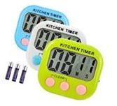 3 Pack Digital Kitchen Timer Cooking Timers Clock with