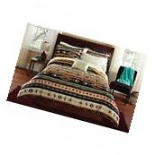 KOKOPELI Southwest Comforter Set KING SIZE 8 Pcs Native Tribal Bedspread Bedding