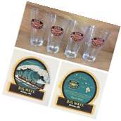 Kona Brewing Co 16 oz Pint Glass Beer Liquid Aloha Beautiful