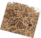 8oz KRAFT BROWN Fine Cut Gift Basket Shred Shredded Paper