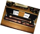 NEW KUENG KUNG MODEL 2511 BAROQUE TENOR RECORDER STAINED