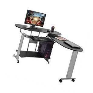 L-Shaped Computer Desk Expandable PC Laptop Desk Corner