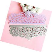 Lace Cutting Dies Stencil Scrapbooking Album Paper Card