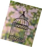 The Lakeside Collection Decorative Metal Birdcages - Bronze
