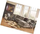 LAKESIDE - Modern Brown Microfiber Living Room Sofa Couch